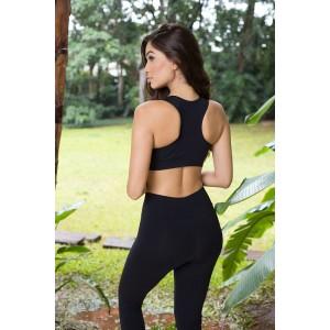 Calça Fitness Fashion - Preta